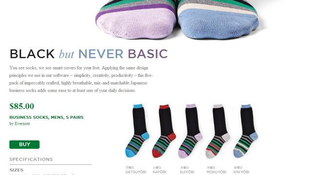 evernote-socks
