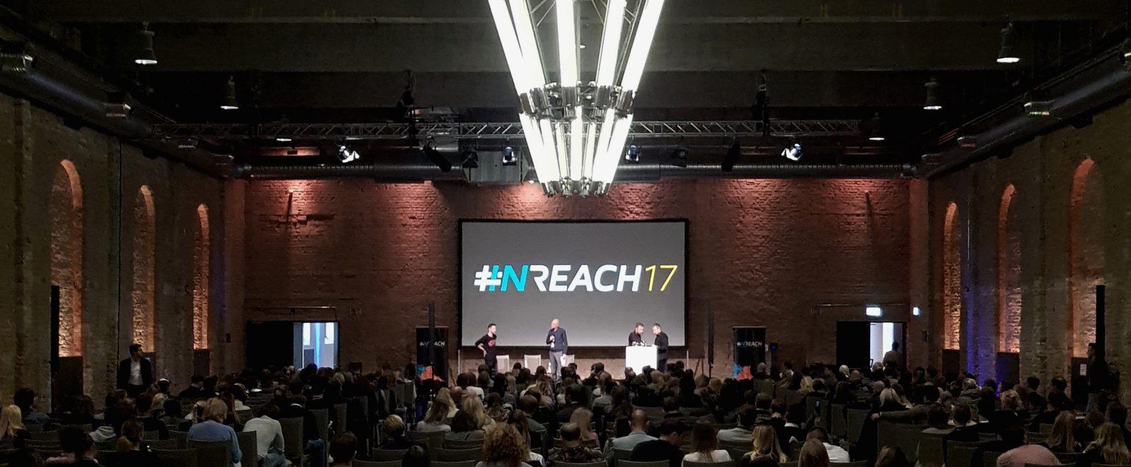 Eröffnung der Influencer Marketing Konferenz INREACH 2017 in Berlin